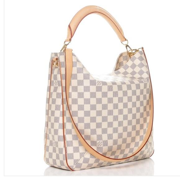 Louis Vuitton Bags Soffi Damier Azur Crossbody Bag Poshmark